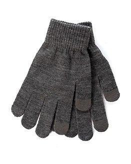 Pieces New Buddy Smart Glove Dark Grey