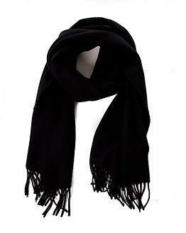 Pieces New Eira Wool Scarf Black