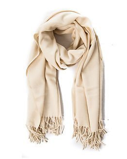 Pieces New Eira Wool Scarf Whitecap Gray