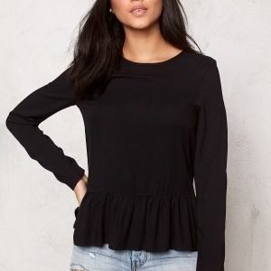 Pieces Olimo Top Black
