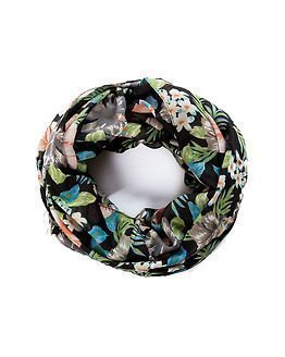 Pieces Omke Tube Scarf Black