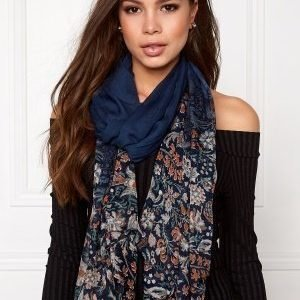 Pieces Pahny long scarf Navy Blazer