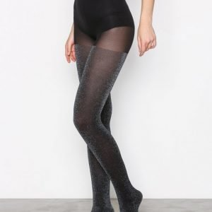 Pieces Pcdora Glitter Tights Sukkahousut Musta