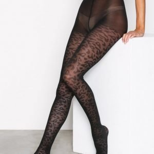 Pieces Pcrobin Tights Sukkahousut Musta