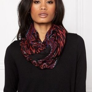 Pieces Puja Tube Scarf Black
