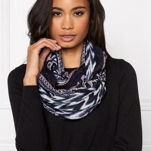 Pieces Puja Tube Scarf Whitecap Gray