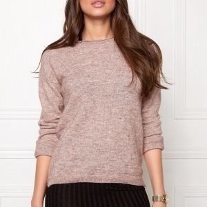 Pieces Renee Is Wool Knit Fawn