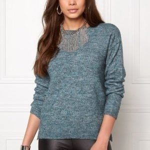 Pieces Renee ls Wool Knit Balsam Green