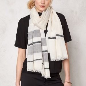 Pieces Tabesha long scarf Whitecap Grey