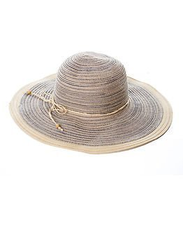 Pieces Trille Big Straw Hat Nature