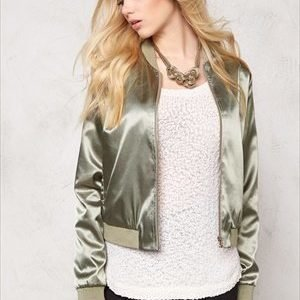 Pieces Unilla bomber jacket Burnt Olive