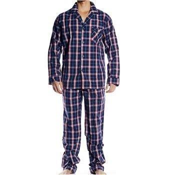 Pierre Hector Poplin Pyjamas Navy