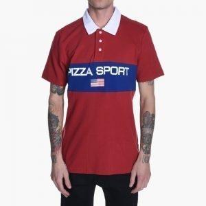Pizza Skateboards Pizza Sport Long Sleeve Polo Shirt