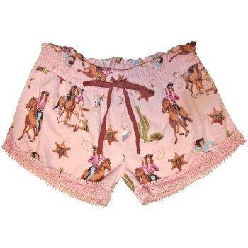 Pj Salvage Blush Pink Flannel Short