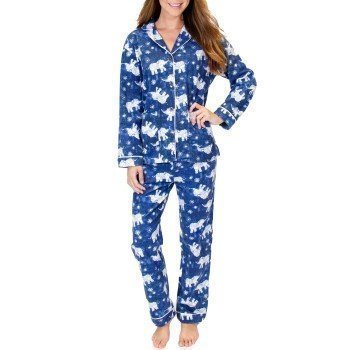 Pj Salvage Flannel PJ Set Batik Elephant