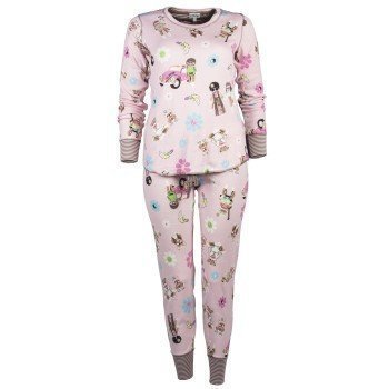 Pj Salvage Hippie Monkey Pyjama Set