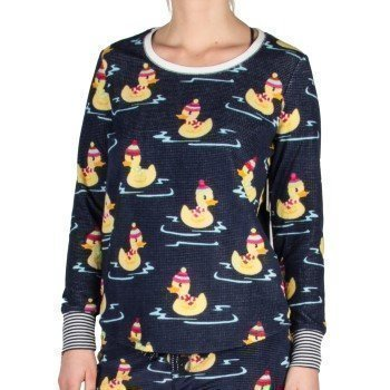Pj Salvage Winter Ducks Long Sleeve Top