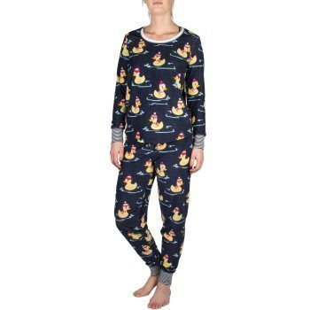 Pj Salvage Winter Ducks Pyjama Set