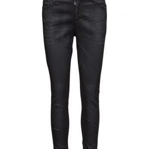 Please Jeans Catwoman Coat Nero skinny farkut