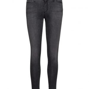 Please Jeans Catwoman Cut Grey Denim skinny farkut