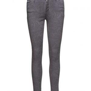 Please Jeans Catwoman Grey Paisley skinny farkut