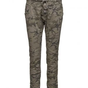 Please Jeans Danny Camoflage casual housut