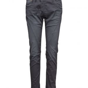 Please Jeans Fine Cotton Antracite suorat housut