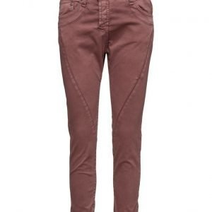 Please Jeans Fine Cotton Bordeaux skinny farkut