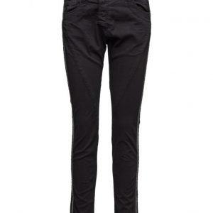 Please Jeans Fine Flap Stripe Side suorat farkut