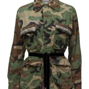 Please Jeans Jacket Militare kevyt takki