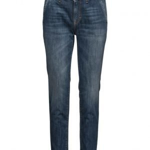 Please Jeans Naoki-Medium Wash suorat farkut