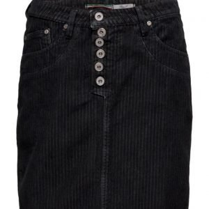 Please Jeans Skirt Short Cod. Nero lyhyt hame