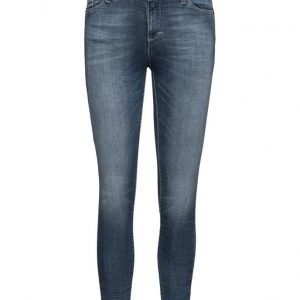 Please Jeans Slim Slim Blue Denim skinny farkut