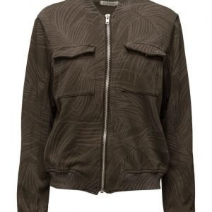 Please Jeans Sweat Jacket Militare svetari