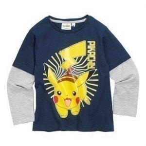 Pokémon T-paita Tummansininen