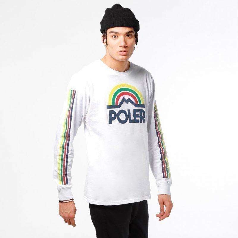 Poler Mountain Rainbow -longsleeve