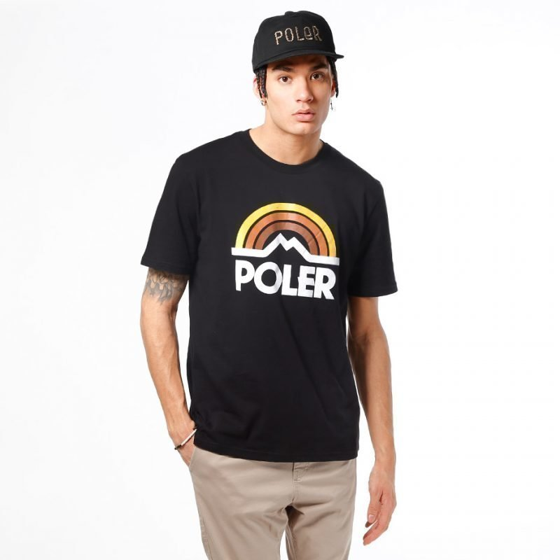 Poler Mountain Rainbow -t-paita