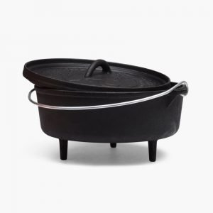 Poler Stuff Cast Iron Dutch Oven