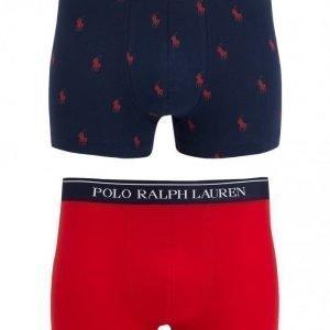 Polo Ralph Lauren 2-Pack Trunk Bokserit Punainen