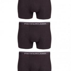 Polo Ralph Lauren 3 Pack Boxer Briefs Bokserit Black
