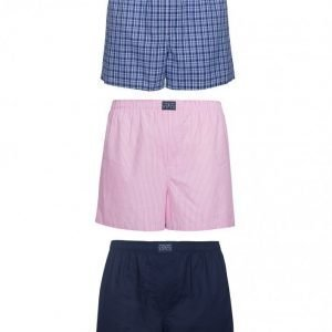 Polo Ralph Lauren 3-Pack Woven Boxers Bokserit Multicolor