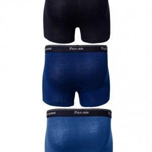 Polo Ralph Lauren 3 Packs Pouch Trunks Bokserit Deniminsininen