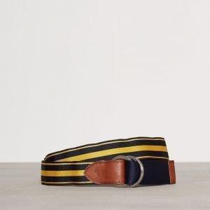 Polo Ralph Lauren 34 Rv Grs Gr-Casual-Fabric Vyö Navy/Kulta