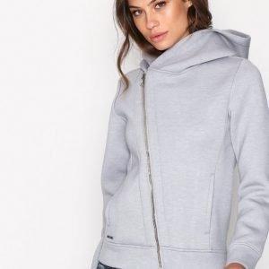Polo Ralph Lauren Asymmetric Full Zip Long Sleeve Huppari Heather