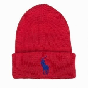 Polo Ralph Lauren Big Pony Cuff H Pipo Navy/Red