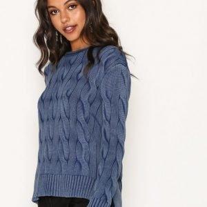Polo Ralph Lauren Boxy Rollneck Sweater Neulepusero Indigo