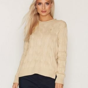 Polo Ralph Lauren Boxy Rollneck Sweater Neulepusero Natural