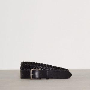 Polo Ralph Lauren Braid Dress Casual Belt Vyö Black