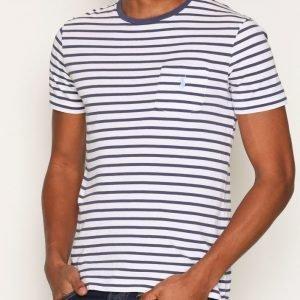 Polo Ralph Lauren CMM3 SS T-shirt T-paita Sininen/Valkoinen