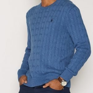 Polo Ralph Lauren Cabelknit Sweater Pusero Blue